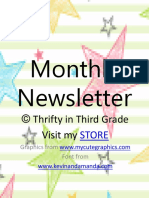 monthlynewslettereditable