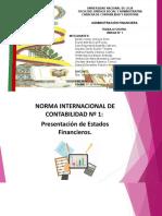 Exposición Administracion Financiera Nic 01