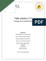 Taller Fisiología