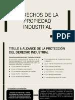 Derechos de La Propiedad Industrial
