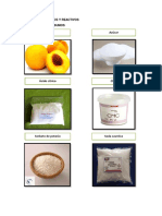 Materiales - Conserva de Durazno