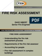 Fire Risk Assesment-Dave Sibert