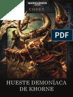 40000CodexprofanusHueste Demoníaca de Khorne_Profanus_Edition