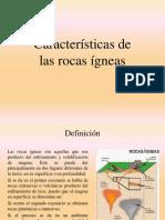 Características Rocas Ígneas