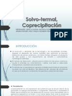 Solvo-termal-Coprecipitación