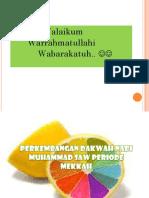 PERKEMBANGAN DAKWAH NABI MUHAMMAD SAW PERIODE MEKAH.pptx
