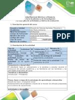 Guía Actividades y Rubrica de Evaluación - Estudio de Caso 1 - Evaluación Inicial