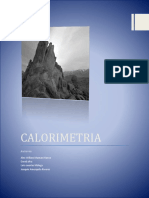 MONOGRAFIA DE CALORIMETRIA