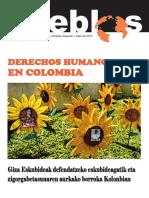 Pueblos 46, abril de 2011, encarte sobre Colombia