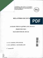 Samuel Tito relatório de materiais de construção 1