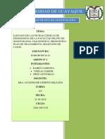 Llenado de La Fichica Clinica de Endodoncia de La Facultad de Oodntología, Diagnostico, Pronóstico y Plan de Tratamiento