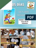 Buenos Días - OCTUBRE - 1 Ciclo Primaria 14-15