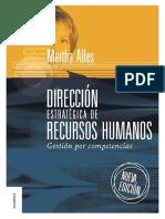 Dirección Estratégica de Recursos Humanos Gestión por competencias - Martha Alles