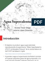 Agua Supercalentada