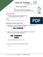 6Basico - Guia Trabajo Matematica - Semana 21