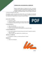 EJEMPLO DE MODELO DE CAUSALIDAD DE ACCIDENTES