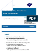 Circuit Design Simulation and Virtual Instrumentation