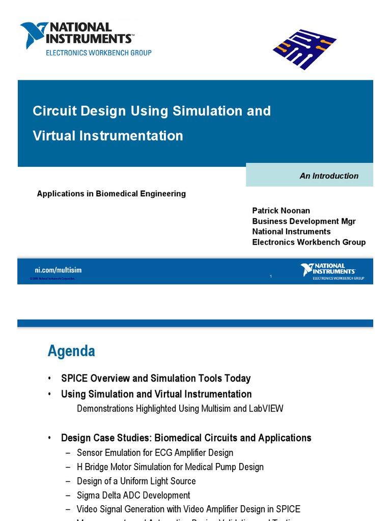 Circuit Design Simulation And Virtual Instrumentation Spice H Bridge