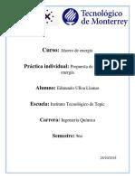 Práctica Individual Curso de Ahorro de Energía (Edmundo)