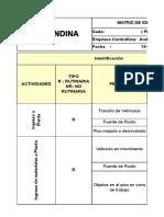 Matris IPERC Andina