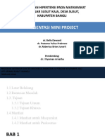 Ppt Mini Project Hipertensi