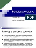 Psicología Evolutiva. Infancia y Adolescencia