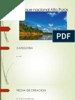 Parque nacional Alto Purús.pptx