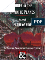 Codex of the Infinite Planes Vol 1 - Plane of Fire