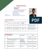 Curriculum Vitae-professor 30-05-2018