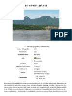 Presipitacion en El Río Guadalquivir