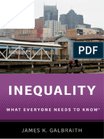 James K. Galbraith - Inequality_ What Everyone Needs to Know (2016, Oxford University Press)