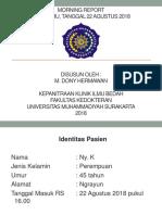 Dony MR of Digiti 5 Manus Sinistra 22 8 2018