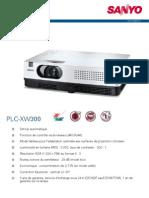Sanyo Plc Xw300