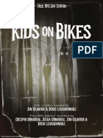 Kids on Bikes - FREE RPG DAY Edition