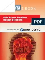 Gan Power Amplifier Design Solutions eBook Mwj