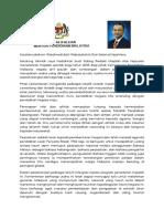 Kata Alu Aluan Menteri Pendidikan Malaysia 2018