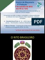 Historia e Cacteristicas Do Rito Brasileiro