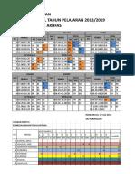 jadwal pelajaran mts revisi25jul18 (Autosaved).xlsx