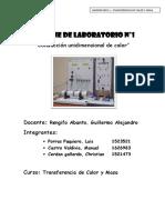 Laboratorio de Conducción - Transferencia de Calor