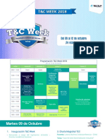 Programa T&C Week 2018