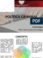 Politica Criminal