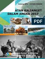 Kecamatan Kalianget Dalam Angka 2017