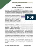 Ejemplo Resumen Parasitologia