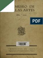 El MNBA 1880-1930