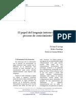 Azcoaga Juan - El papel del lenguaje interno en el proceso de conocimiento.pdf