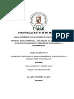 Programa Nivel Primaria Ebr