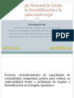 Estrategia Nacional de Lucha Contra La Desertificación y La Sequía 2016-2030