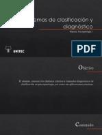 2.0 Psicopatología-sistemas de Clasificación y Diagnóstico