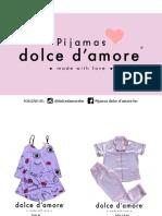 _Pijamas Dolce d'Amore