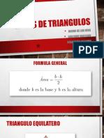 Areas de Trangulos 3